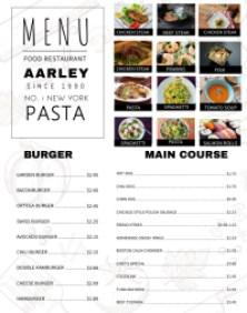 menu maker foods products foodstutorial org