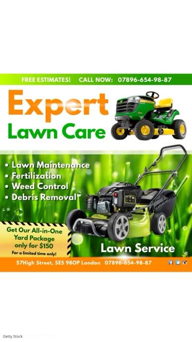 farm lawn care flyer - Asliaetherair - lawn services flyer