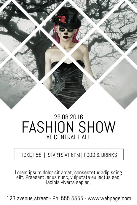 fashion flyer template - Deanroutechoice - fashion design brochure template