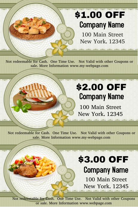 food voucher template - Eczasolinf - food voucher template
