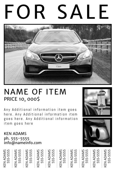 car for sale ad template - Ozilalmanoof