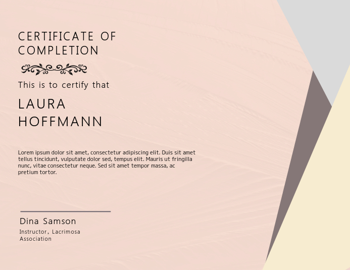 Gift Certificate Card Template PosterMyWall