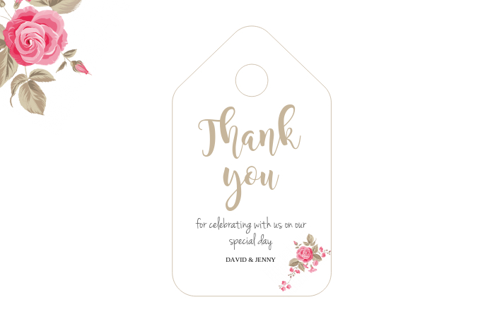 GIFT TAG TEMPLATE PosterMyWall