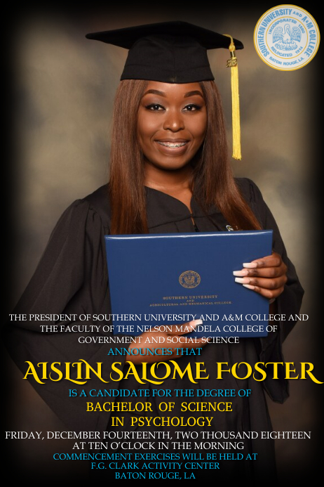 Graduation Announcement Template PosterMyWall