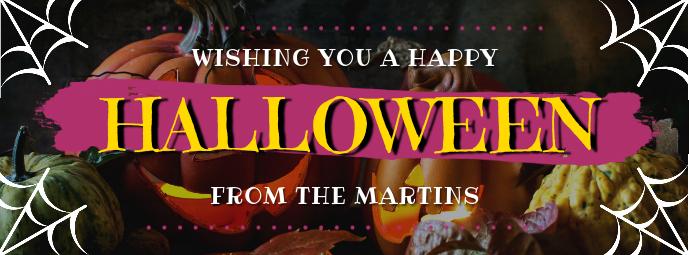 Halloween Wish Facebook Header Template PosterMyWall