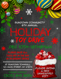 210 Toy Drive Customizable Design Templates Postermywall