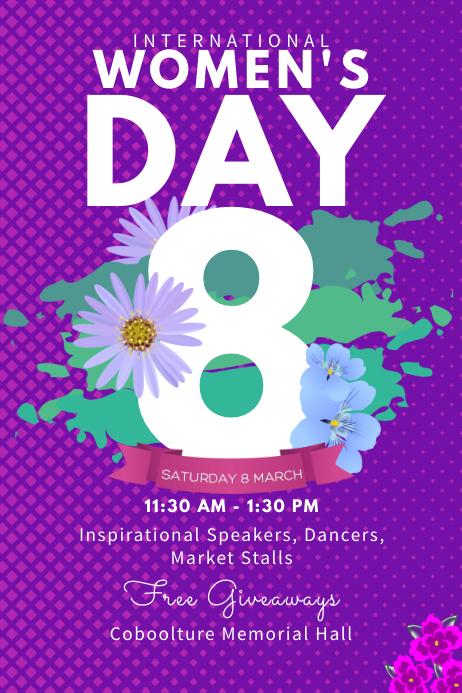Customize 460+ Women\u0027s Day Flyer Templates PosterMyWall