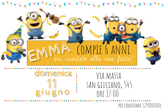 Minions Birthday Invitation Template PosterMyWall