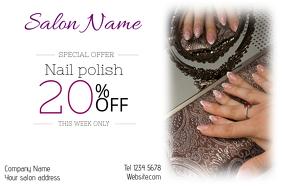 660 Customizable Design Templates For Nail Salon