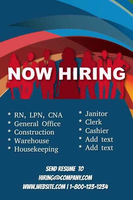 now hiring flyer template - Gottayotti - hiring flyers template