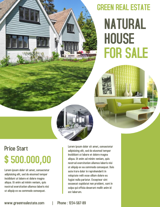 Open House Real Estate Property Business Flyer and poster Template