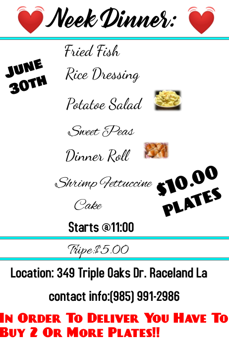 plate sale flyer - Solidgraphikworks - Plate Sale Ticket Template
