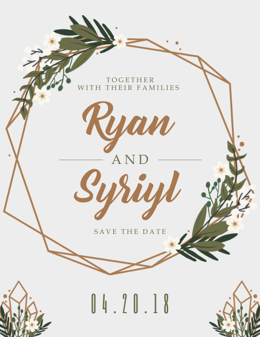 Customize 1,270+ Wedding Invitation Templates PosterMyWall