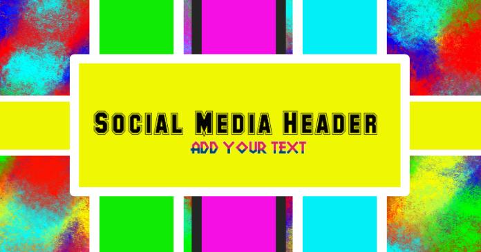 Social Media Facebook header Template PosterMyWall