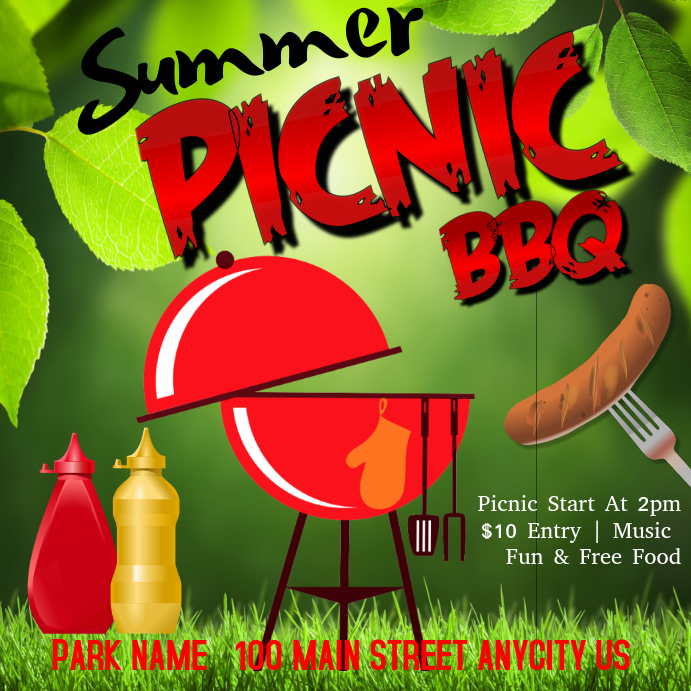 bbq picnic flyer - Athiykhudothiharborcity - picnic flyer template
