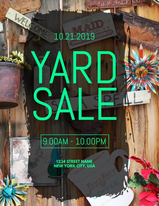 yard sale template