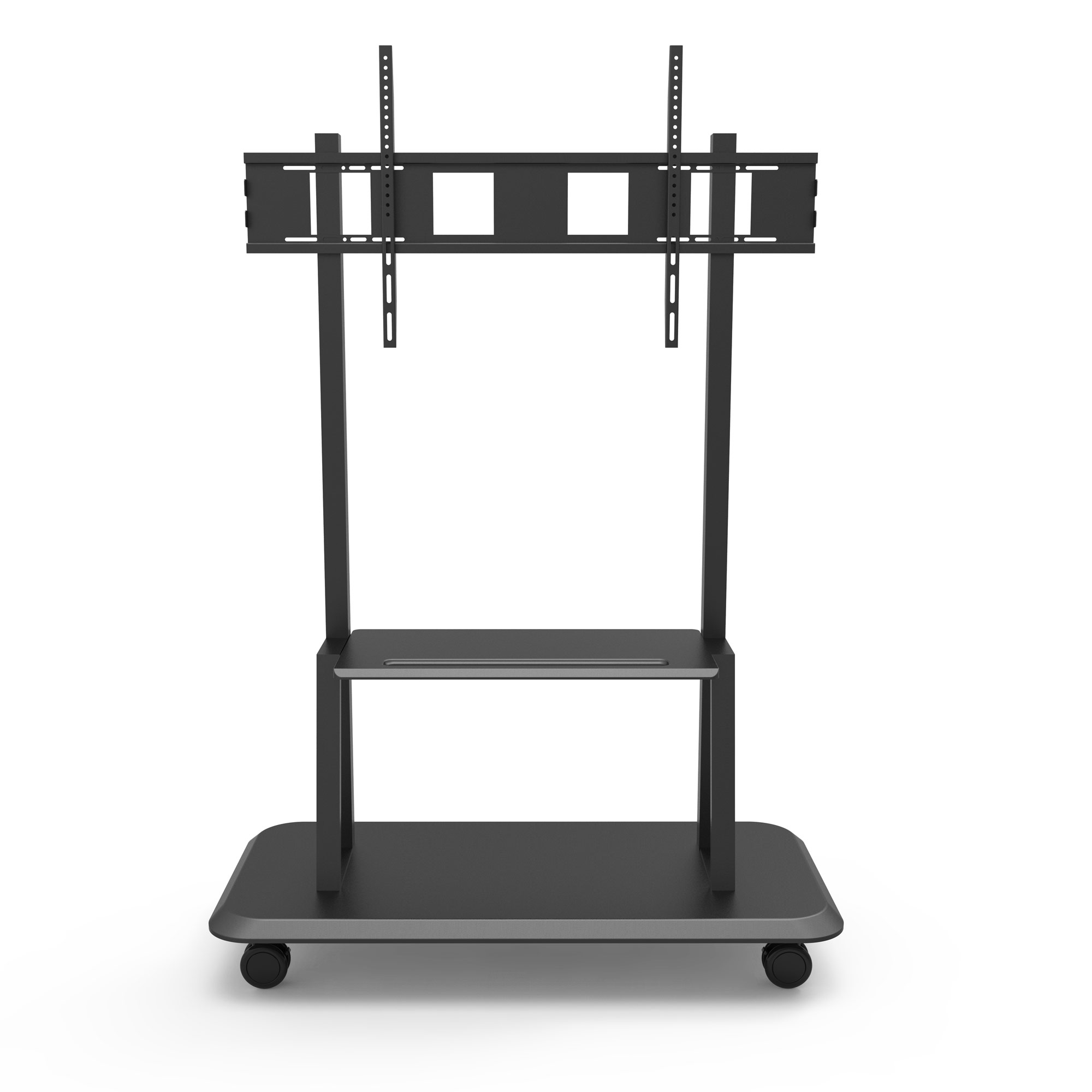 Supporto Tv Con Mensole Free Standing Floor Support With Shelf For Lcd Led Plasma Tv 55 110