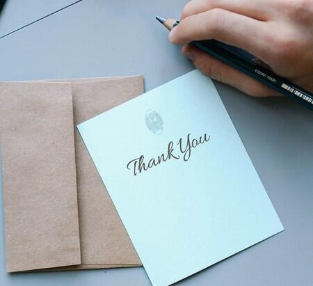 What to Include in Your Internship Thank You Note College News