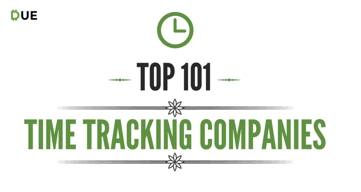 Top 101 Time Tracking Companies - Due