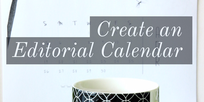 How to Create An Editorial Calendar For a Blog in 2017 - Due - create a picture calender