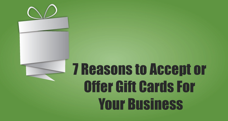 7 Reasons to Accept or Offer Gift Cards For Your Business - Due - gift cards for business