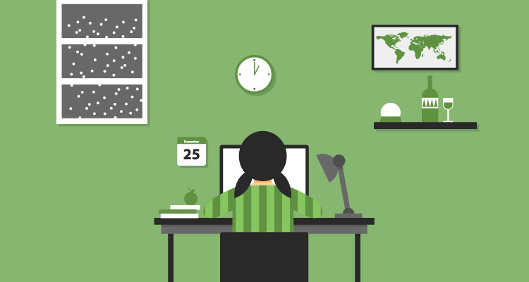 Work from Home Avoid Distractions