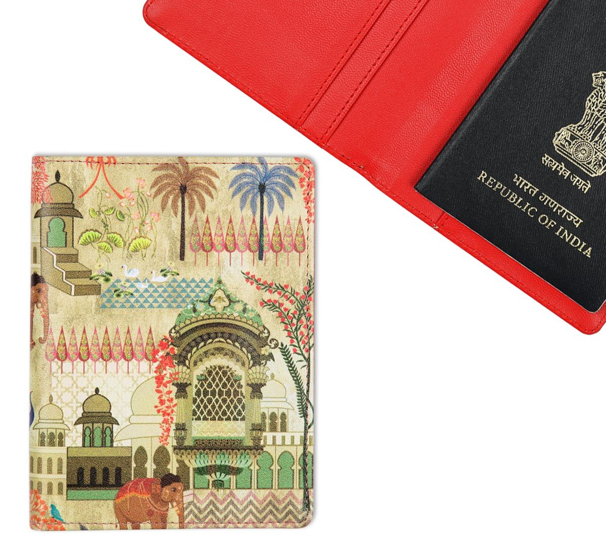 Architecture Gifts For Him Mughal Treasures Passport Cover