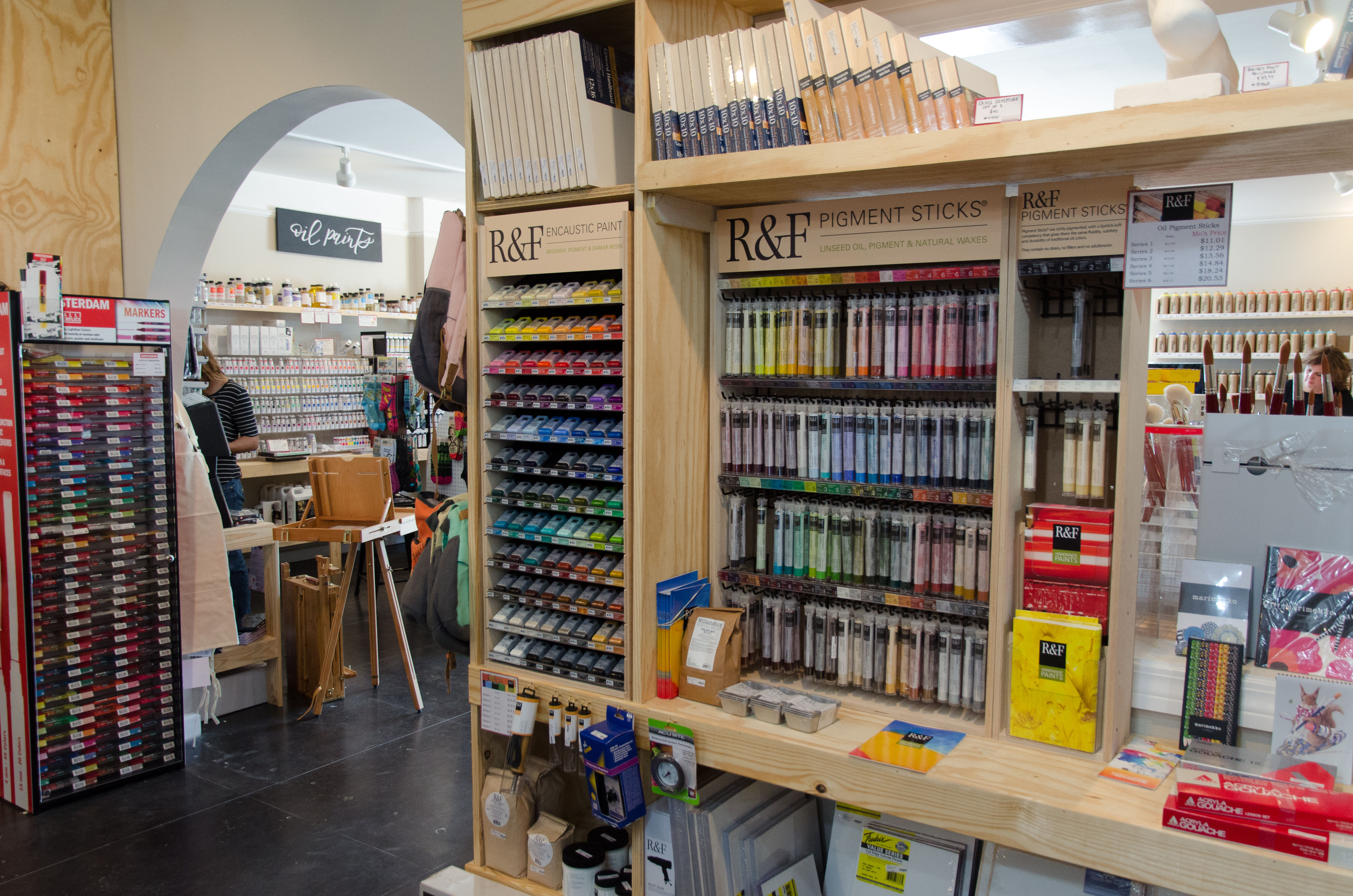 Art Store 10 Questions With Mo S Art Supply Owner Simone Burke