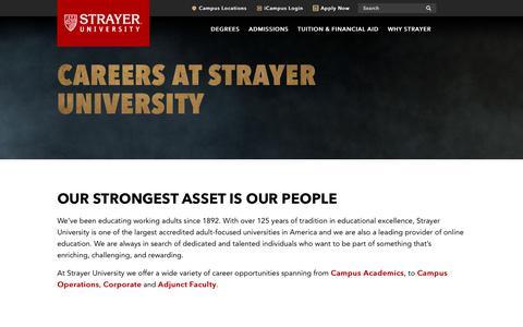 strayer university innovating with purpose at strayer university