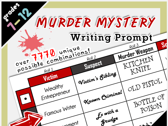 Murder Mystery Activities For Primary