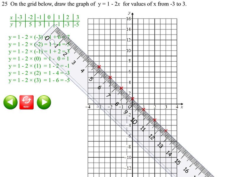 SMART Notebook GCSE Maths Sample Paper 1F - Animated Solutions by