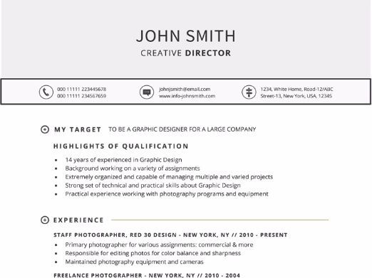 Targeted Resume Template for Word by gemresume - Teaching Resources