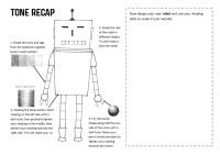 Robot Tone Worksheet by sallyjanepearce22 - Teaching ...