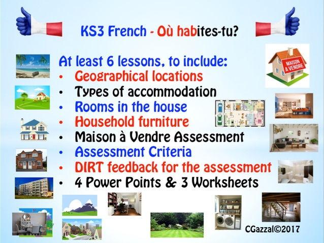 KS3 French \u2013 Describing Where You Live by cgazzal - Teaching
