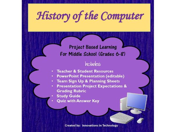 Computer History - Group Research  Presentation Project by