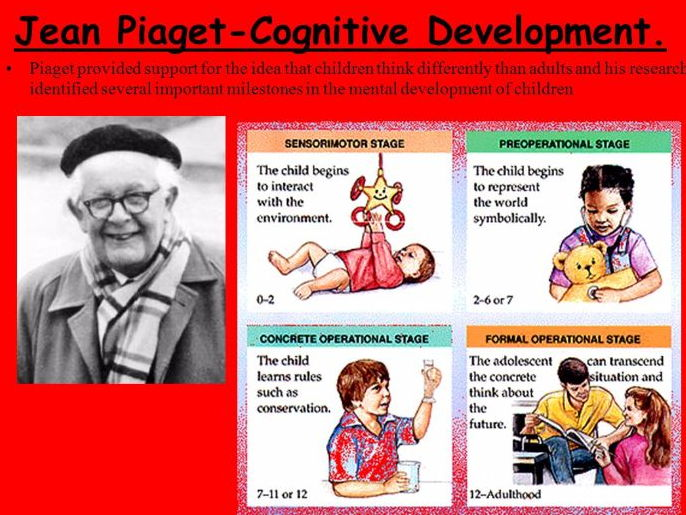 Piaget\u0027s theory of cognitive developmental theory by mohdamir69