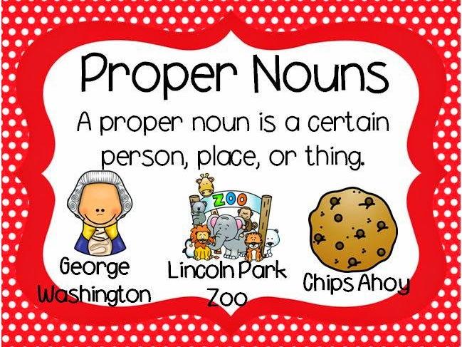 Proper Nouns Powerpoint by MFLYNN-Teacher - Teaching Resources - Tes