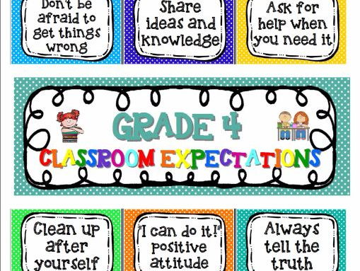 Class rules / expectations Fully editable by MrsCupcakesResources