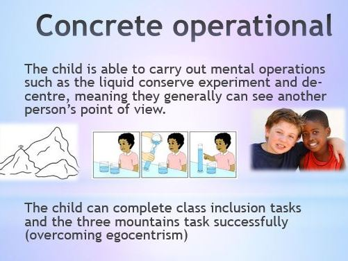 Piaget\u0027s Cognitive Development Theory PowerPoint and comprehension