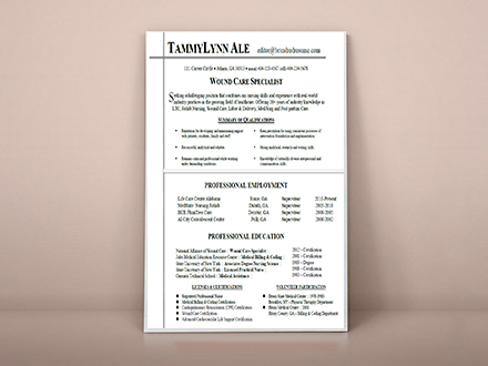 Resume Samples BrandRed Resume