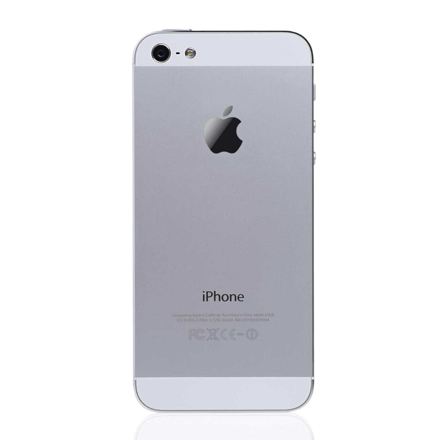 Iphone 5 S Libre Iphone 5 16 Gb Blanco Libre Reacondicionado Back Market