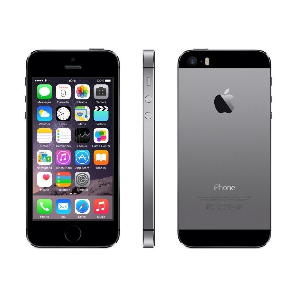 Iphone 5 S Libre Iphone 5s 64 Gb Gris Espacial Libre Reacondicionado