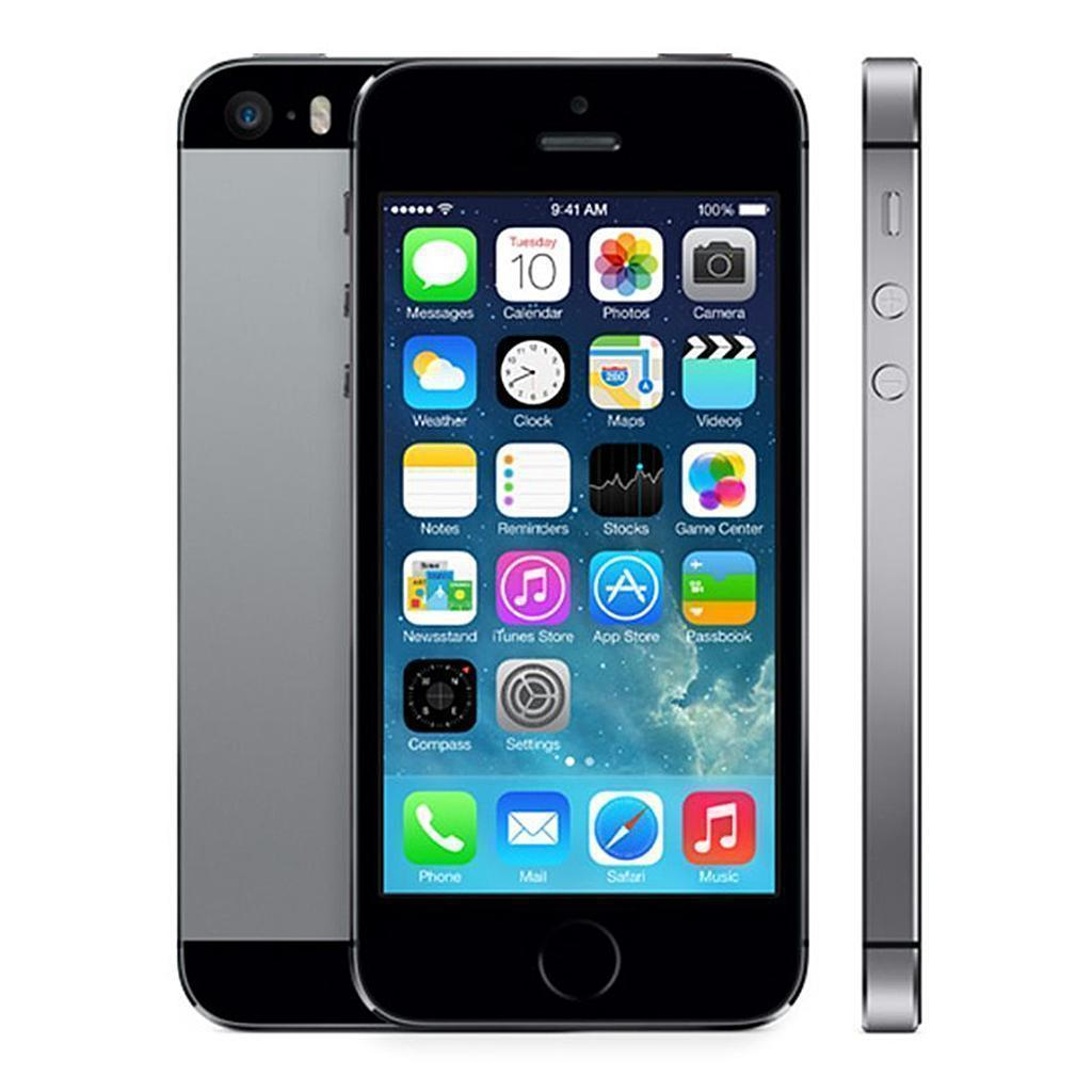 Iphone 5s Libre Segunda Mano Iphone 5s 16 Gb Gris Espacial Libre