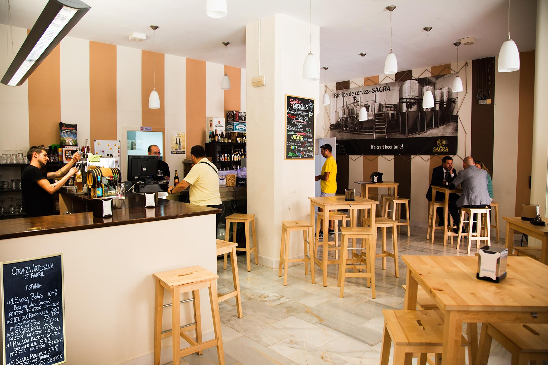 Cerveceria Arte Y Sana Malaga The Best Places To Drink Craft Beer In Malaga