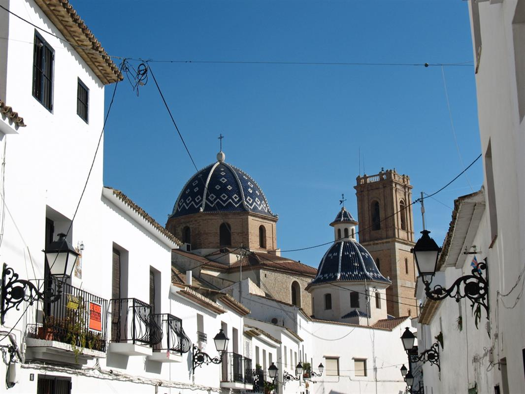 Altea Spanje Forget Benidorm And Head For Altea