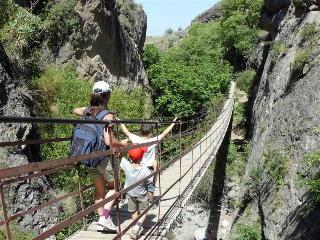 Camino De Ronda Granada Wikipedia Walking The Hanging Bridges Of Los Cahorros Monachil Granada