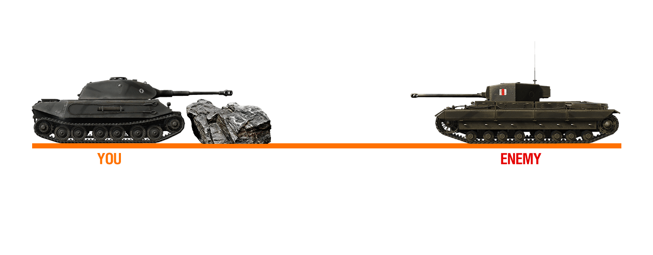 Best Tanks To Go Hull Down With In World Of Tanks Allgamers