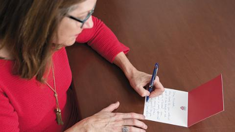 How to write a meaningful thank-you note - Alumni Magazine