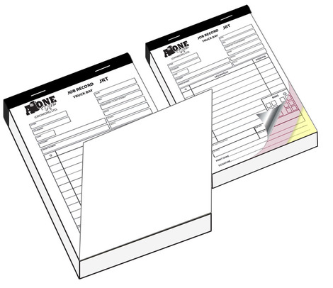 Duplicate and Triplicate NCR Invoice Books
