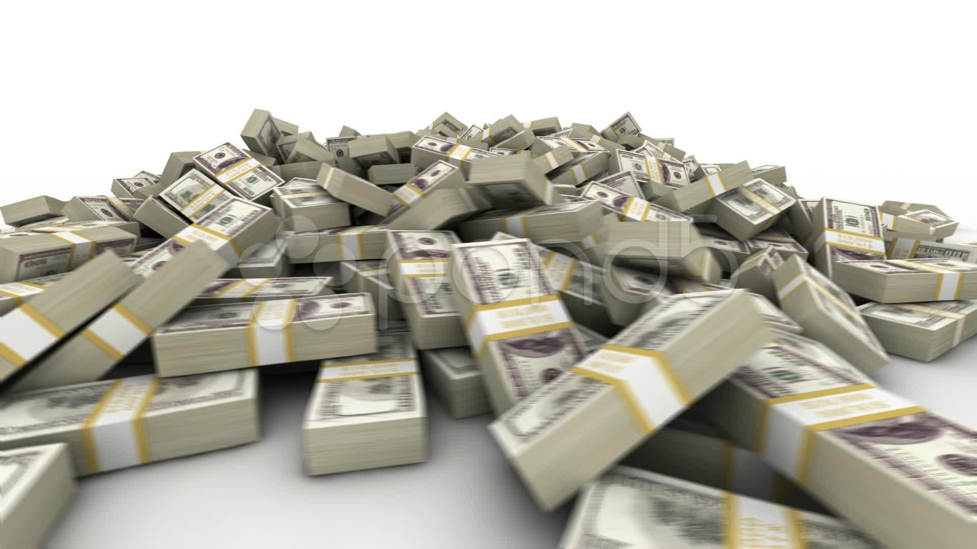Audio Car Wallpaper Download Hundred Dollar Bill Pile Stock Video 8982963 Hd Stock